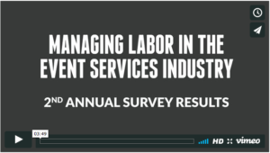 Managing Labor in the Event Services Industry Video Image