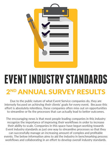 Event Industry Standards Infographic
