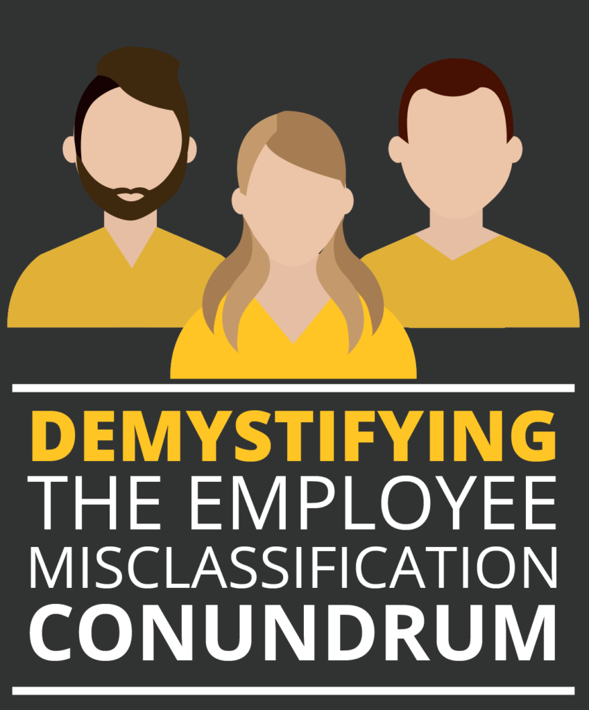 Proper Employee Classification