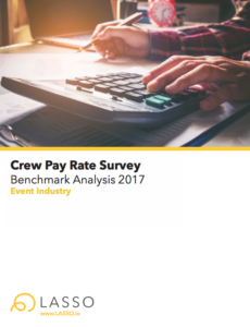 Crew Pay Rates - Event Management