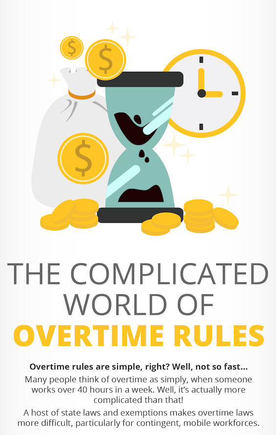 Infographic: Overtime Rules for your Contigent Workforce