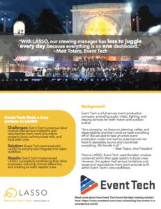 event tech case study