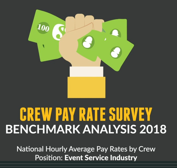 event crew pay rates