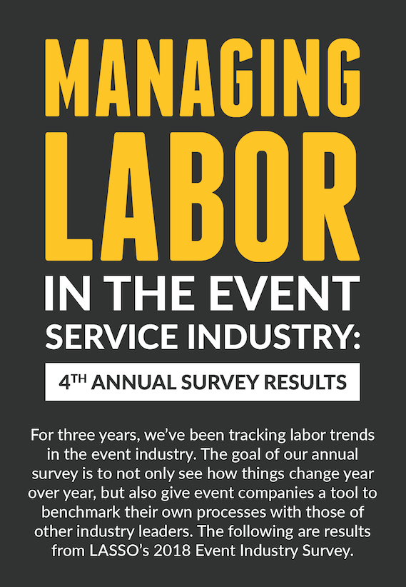 managing labor in the event service industry