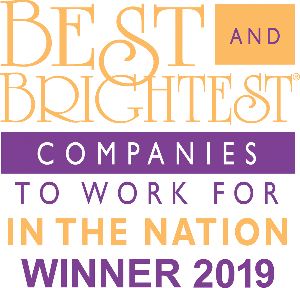 Best & Brightest Company to Work for 2019